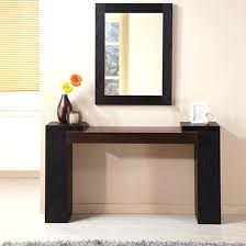 hallway table and mirror sets modern console table with mirror modern console table with mirror