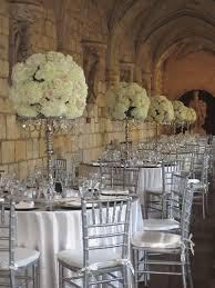 sophisticated metallic wedding decor trias events