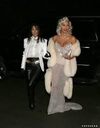 The Best Celebrity Halloween Costumes by Kourtney And Kim Kardashian As Michael Jackson And Madonna The