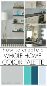 How To Choose An Accent Wall by Color Pallets With Teal Yellow Grey 6b6b6b Hex Color Rgb