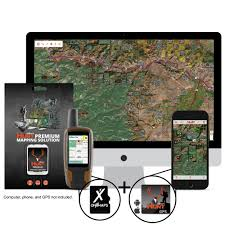Colorado Hunting Units Map by Onxmap Wyoming Premium Hunt Map For Garmin Microsd Card