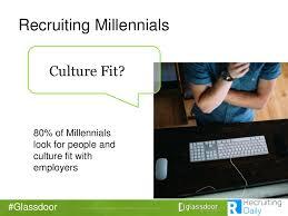 glassdoor recruiting millennials 80 of