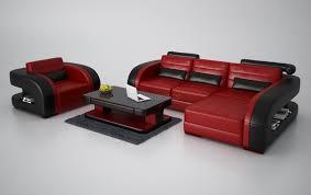 canapé design pas chere canapé d angle en cuir avec fauteuil assorti italien design et pas