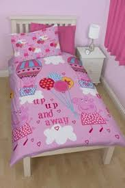 Peppa Pig Bed Set by Peppa Pig Single Duvet Set Bedding Asda Direct All For The