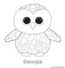 swoops 2 beanie boo coloring pages printable