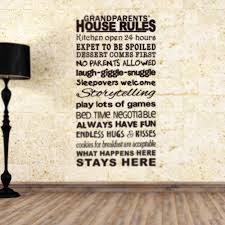 aliexpress com buy english proverbs house rules home quote wall