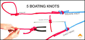fit to be tied 5 essential knots for boaters
