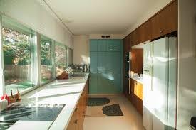mid century modern kitchen ideas interior mid century modern kitchen design with white countertop