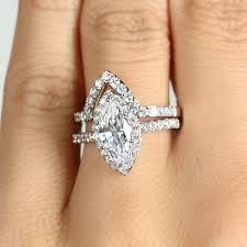 marquise diamond engagement ring marquise cut cz engagement ring guard