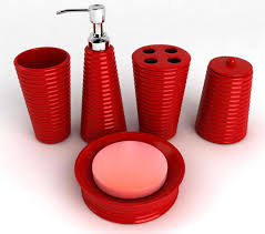 Red And Black Bathroom Accessories by 78 Ideas About Red Bathroom Accessories On Pinterest Red Red