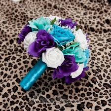 purple and turquoise wedding made purple turquoise and aqua teal blue
