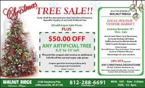 tree sale walnut ridge nursery and garden center