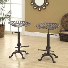 Tractor Seat Bar Stool Amazon Com Carolina Chair And Table Adjustable Colton Tractor