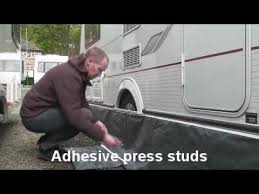 Caravan Awning Rail Protector Fitting Nr Awnings Wheel Arch Cover Kit Youtube