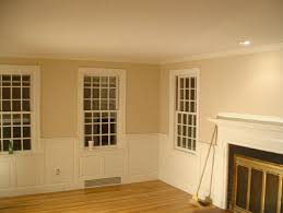 Dining Room Wainscoting Craftsman Living Room New York By - Dining room with wainscoting
