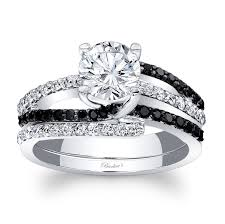 black bridal sets barkev s black diamond bridal set 7677sbkw