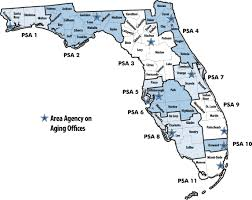 Tallahassee Florida Map by Florida Department Of Elder Affairs Aaa Performance Measures