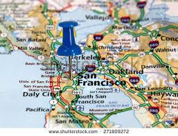 san francisco on map san francisco map stock images royalty free images vectors