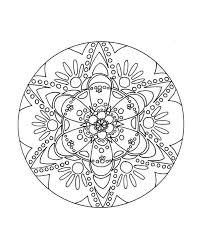 free printable mandala coloring pages adults coloring