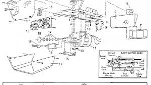 garage door diagram craftsman garage door opener wiring u2022 wiring