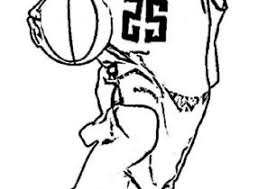 nba players coloring pages nba coloring pages coloring4free com