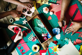 christmas easy paper crafts