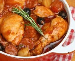 cuisiner du poulet poulet à l espagnol recette de poulet à l espagnol marmiton