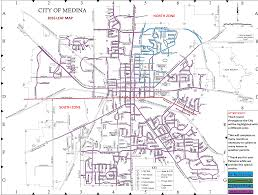 Map Of Cities In Ohio by Leaf Program The City Of Medina Ohio