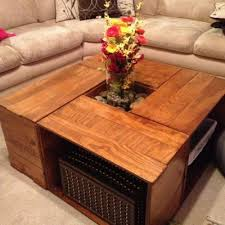Wooden Coffee Table Plans Diy by 25 Best Crate Coffee Tables Ideas On Pinterest Wine Crate