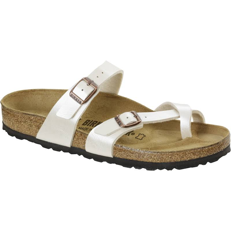 Birkenstock Mayari Birko-Flor Graceful Pearl White 37 / Regular