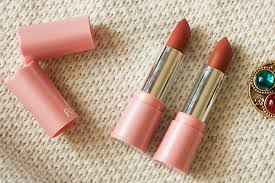 Lipstik Pixy Silky Fit review lipstick pixy silky fit satin 503 brown sugar satin dan