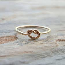 knot promise ring solid 14k gold knot promise ring from brightsmithsilver