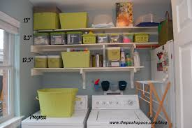 Laundry Room Storage Shelves Modern Stackable Laundry Machines Along With Dryer Laundry Room
