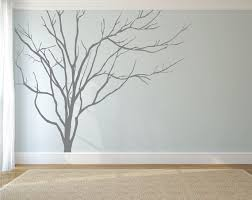 Headboard Wall Sticker by Realistic Winter Tree Wall Decal Headboard Wall Decal Home