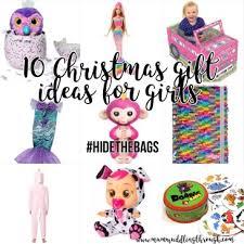10 christmas gift ideas for girls 2017 hidethebags mum muddling