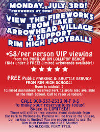 july 3rd fireworks lake arrowhead shop dine explore
