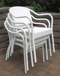 Plastic Bistro Chairs Plastic Wicker Chair Resin Wicker Bistro Chair Contemporary