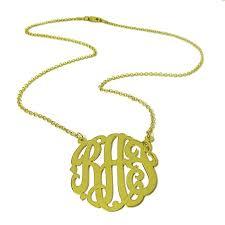 monogram necklaces monogram necklaces alix fray