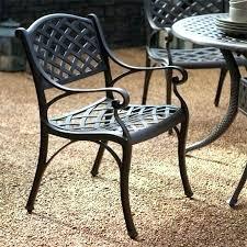 Aluminium Patio Table White Cast Aluminum Outdoor Furniture Reality Reboot
