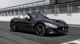 maserati sedan black maserati grancabrio review 2017 autocar