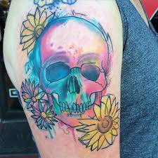 beach watercolor tattoo pictures to pin on pinterest tattooskid