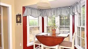 Kitchen Bay Window Curtain Ideas Window Treatment Ideas For Breakfast Nook Day Dreaming And Decor