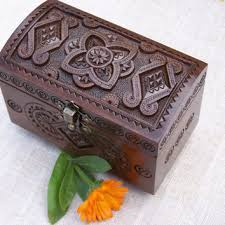 jewellery box rings images Shop carved wooden wedding rings on wanelo jpg