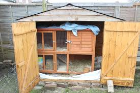 Rabbit Shack Hutch How We Made Our Awesome Rabbit Village U2013 Invoke Delight And Inspire