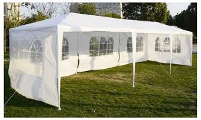Awning Gazebo Wedding Party Tent Canopy White Awning Pavilion Durable Event