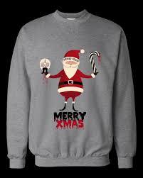 nobby satanic christmas sweater entracing ugly satan reindeer