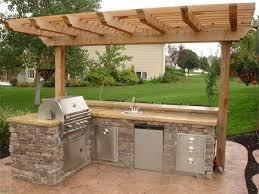 cheap outdoor kitchen ideas best 25 diy outdoor kitchen ideas on pinterest grill station