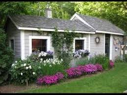 pretty shed 10 cool garden potting sheds youtube