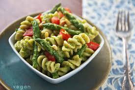 pasta salad pesto asparagus pesto pasta salad recipe from fatfree vegan kitchen