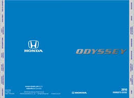 honda odyssey owners manual 2016 honda odyssey owner s guide pdf manual 80 pages